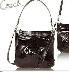 L@@K! Gorgeous COACH Ashley  Patent Hippie Xbody